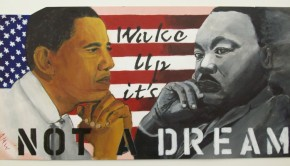 Marther Luther King e Obama